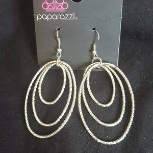 Paparazzi Silver Fish Hook Earrings
